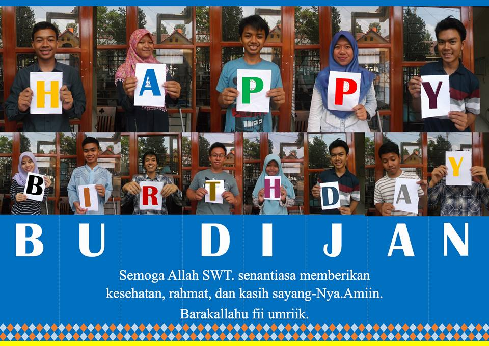 Happy Birthday Ibunda Sri Dijan Tjahjati